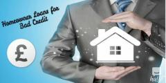 Online Hub for Hassle Free Homeowner Loans for Bad Cred