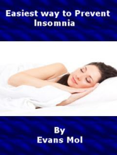 Easiest way to Prevent insomnia