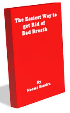 The easiest way to to get rid of bad breath