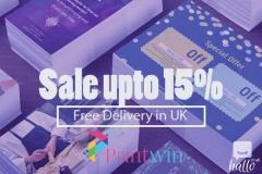 Flyers & Folded leaflet Printing Online UK - Printwin