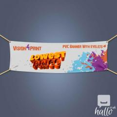 Advertising PVC Banners with Eyelets Birmingham