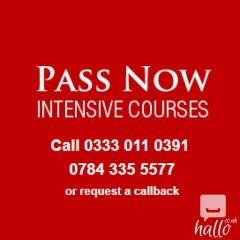 Enrol in a One Week Crash Course in London- 03330110391