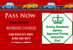 Looking for driving crash courses Call on 0333011039