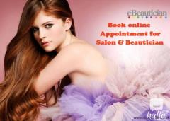 Book online appointment for salon and hair stylist