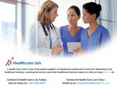 Healthcare Specialty Mailing list & Email list in UK