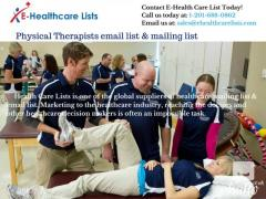 Physical Therapists email list & mailing list in UK
