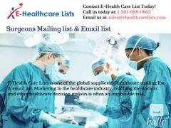 Surgeons Mailing list & Email list in UK