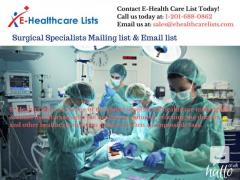 Surgical Specialists Mailing list & Email list in UK