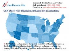 USA State-wise Physicians Mailing & Email list in UK