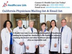 California Physicians Mailing list & Email list in UK