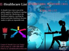 Up-to 40 OFF on International Physicians Email List