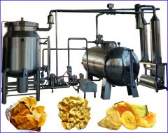 Vacuum Fryer for Fruits & Vegetables Snacks