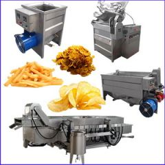 Professional Potato Chips Frozen Fries Machines