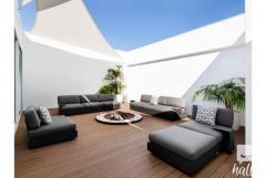Bari 3 Seater Sofa-  Garden Furniture