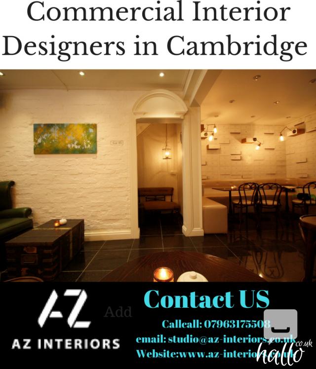 Commercial interior designers in cambridge for Commercial interior design services