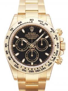 Rolex Daytona Black 116508