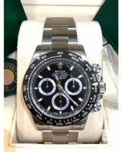 Rolex Daytona, Stainless Steel, Black 116500Ln