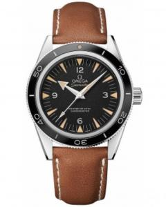 Omega Seamaster 300 Master Co-Axial 41Mm Leather Brown