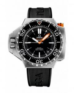 Omega Seamaster Ploprof 1200M Rubber Black