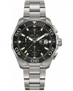 Tag Heuer Aquaracer Automatic Chronograph Steel Black