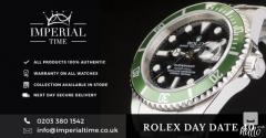 Get the best Pre Owned Rolex Submariner in London