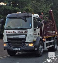 Skip Hire Services in Great Dunmow to recycle
