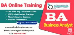 Business Analyst Online Training With Job Assist
