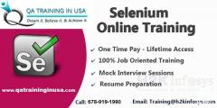 The Best Selenium Online Training With Job Assis