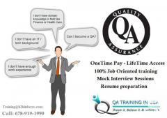 Quality Assurance Online Training From Qa Traini