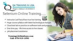 Selenium Training For Entry Level Professionals
