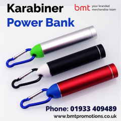 Promotional Karabiner Power Bank
