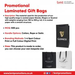 Promotional Laminated Gift Bags