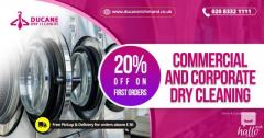 Commercial & Corporate Dry Cleaning Services in London