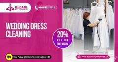 Wedding Dress Dry Cleaning Services in London