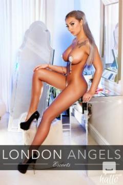 LONDON ANGELS ESCORTS BUSTY ANJELIQUE - 020 7205 2663