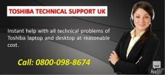 Toshiba Support Services in UK 0800-098-8674