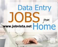 Data Entry Clerk Part Time Start Urgently.