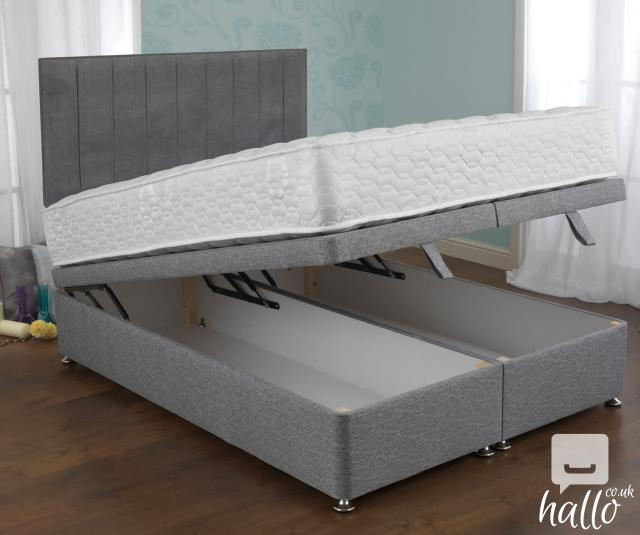 Sweet dreams trafalgar ottoman bed set free delivery for Beds n dreams