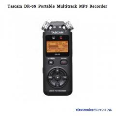 Tascam Dr-05 Portable Multitrack Mp3 Recorder