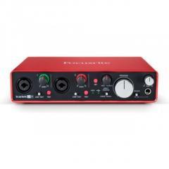 Audio Interface For Mac- Focusrite Scarlett 2I4