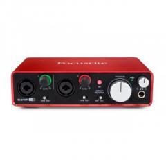 Best Cheap Audio Interface Focusrite Scarlett 2i2