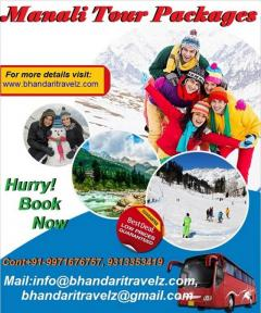 Manali Holidays Packages By Bhandari Travelz Pvt