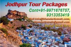 Holidays In Jodhpur By Bhandari Travelz Private