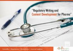 Regulatory Writing and Content Development for Pharma