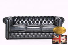 Original Chesterfield Brand Sofa-Real leather