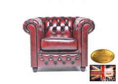 Original  Chesterfield Brand Armchair-Wash Off R