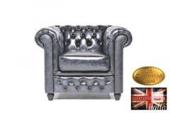 Original Chesterfield Brand  Wash-Off  Blue Armc