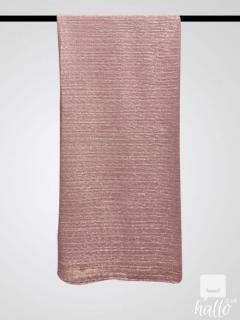 Sheer Shiney Hijab Pink One Size