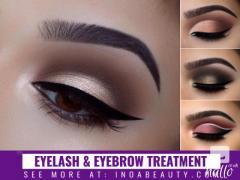 Eyelashes and Eyebrow Treatment at INOA Beauty Salon