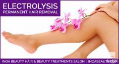 Electrolysis Permanent Hair Removal at INOA Beauty